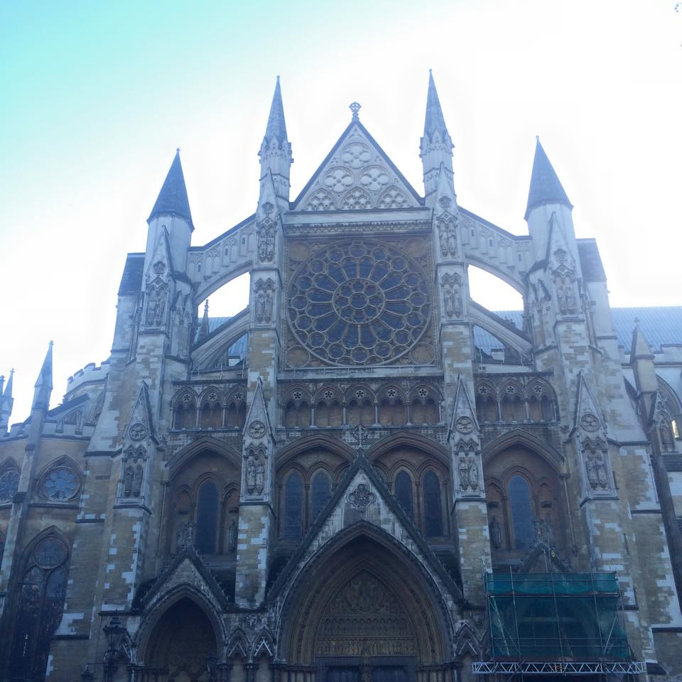 Westminster Abbey was probably my favorite stop of the whole visit. Dallas doesn't understand my fascination with cemeteries, and I really enjoyed reading all the tomb inscriptions, even the ones I struggled through because they were in Latin.